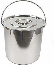 Berkalash 20L Stainless Steel Bucket Food Bucket,