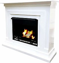 Berlin Deluxe Ethanol and Gel Fireplace Model