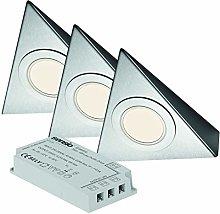 Bermuda - Triangle Under Cabinet 3 Light Kit Inc