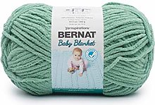 BERNAT Baby Blanket, Misty Jungle Green, 300g
