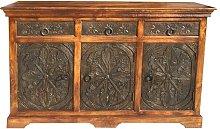 Bernhard 3 Door/3 Drawer Cabinet Carving Range