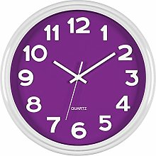 Bernhard Products Purple Wall Clock 12.5 Inch