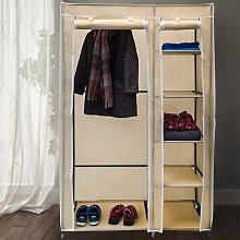 Berns 107cm Wide Portable Wardrobe Rebrilliant