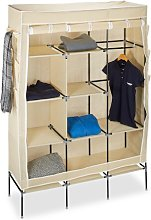 Berns 84cm Wide Portable Wardrobe Rebrilliant