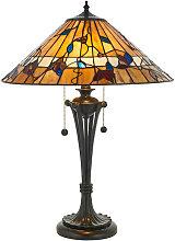 Bernwood 60W lamp, glass and resin