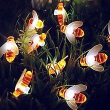 Berocia Bee Solar String Lights Outdoor Garden