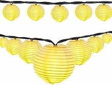 Berocia LED Solar String Lights Outdoor Garden