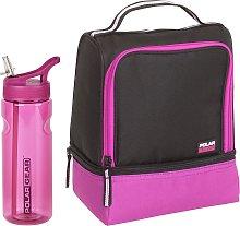 Berry Lunch Bag & Bottle - 650ml