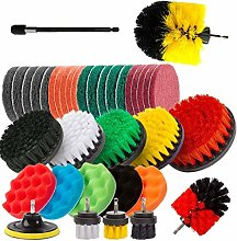 Berrywho Drill Brush Power Scrubber Set with