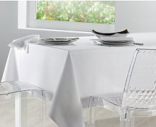 Bertie 170cm Tablecloth Canora Grey Colour: Blanc
