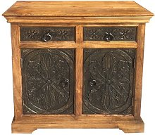 Berton 2 Door/2 Drawer Cabinet Carving Range