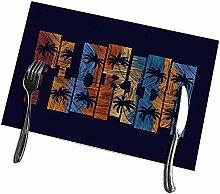 Beryl Shop Dining Table Placemats Florida Concept