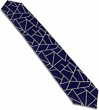Beryl Shop Navy Blue Mosaic Lines Personalized