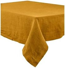 Berylune - Washed Linen Tablecloth Ochre
