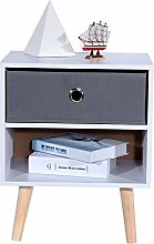 Beside Tables,2 Layer Chest of Drawers Tower