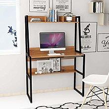 Bespivet Large Computer Desk Workstation with