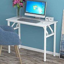 Bespivet Non Assemble Folding Computer Desk Simple