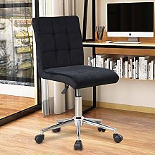 Bespivet Velvet Office Chair Comfortable Ergonomic