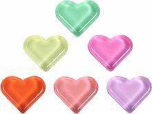 BESPORTBLE 15pcs Heart Shaped Fridge Magnet