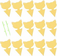 BESPORTBLE 22Pcs Sticky Gnat Traps Yellow Sticky