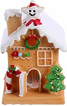 BESPORTBLE Christmas Gingerbread House Cake Topper