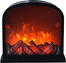 BESPORTBLE Flameless Fireplace Lamp, 11.8 X 11Inch