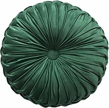 BESPORTBLE Pleated Round Pillow Decorative Pumpkin