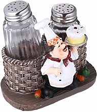 BESPORTBLE Resin Chef Figurine Decorative