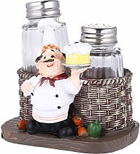 BESPORTBLE Salt and Pepper Shaker Set Chef
