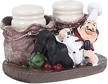 BESPORTBLE Toothpick Holder Jar Set Chef