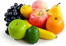 Best Artificial 8 Pieces of Mixed Decorative Fruit