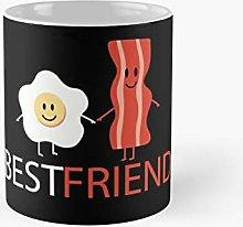 Best Friends Egg Bacon Gift Classic Mug A -