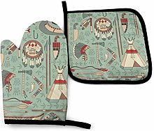 best gift Native American Oven Mitts and