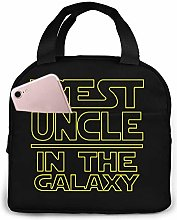 Best Uncle in The Galaxy Unisex Portable Reusable