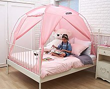 BESTEN Floorless Indoor Privacy Tent on Bed with