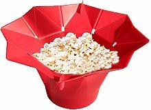 BESTEU Silicone Popcorn Bowl Microwave Popcorn