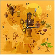 BestIdeas Wall Clocks Africa Tribes Culture And