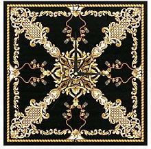 BestIdeas Wall Clocks Golden Baroque Knots Battery