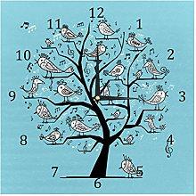 BestIdeas Wall Clocks Singing Birds On Tree