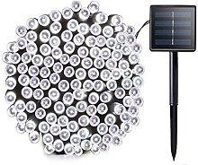 Bestila Outdoor Christmas Lights 72ft 240 LED 8
