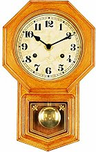 Bestime Small School House Pendulum Wall Clock.