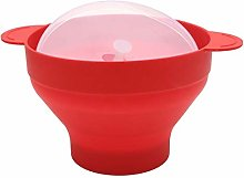 Bestlymood Microwave Popcorn Popper Collapsible