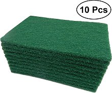 BESTONZON 10Pcs Durable Heavy Duty Scour Pad