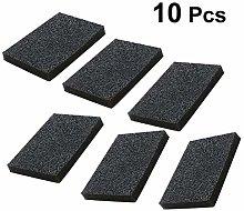 BESTONZON 10pcs Naturals Nano Carborundum Emery