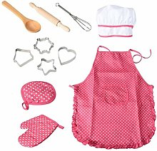 BESTonZON 11pcs Kids Chef Set Children Cooking