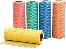 bestonzon 5pcs Reusable Disposable Towels Cleaning