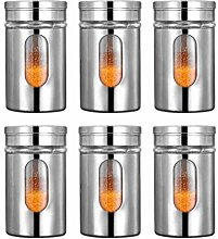 BESTONZON 6pcs Spice Jar Bottle Seasoning Storage