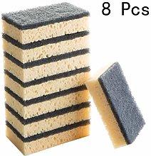 BESTONZON 8 PCS Multi-Purpose Scouring Pads