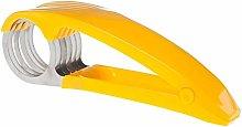 BESTonZON Banana Slicer Handheld Stainless Steel
