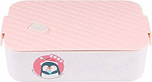 BESTonZON Cute Bento Lunch Box for Kids Food